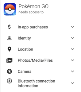 In App Permissions