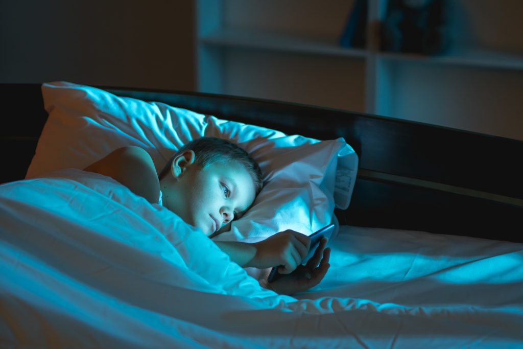 What effects do devices have on sleep?